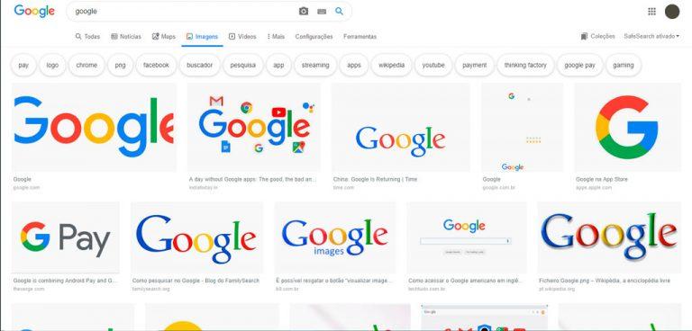 Google exibe ícones Material Design nas páginas de pesquisa
